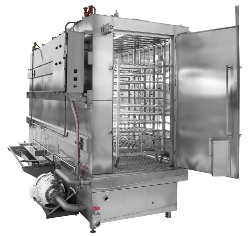 STW-with-Smoke-Rack Model Commercial Dishwasher Manufacturer Brand Partner Douglas Washing and Sanitizing Systems Safer Cleaner Faster Industrial Dishwasher Restaurant Dishwasher Food Industry Cleaning Machines